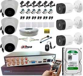 venta mantenimiento e instalación de camaras de seguridad y CCTV