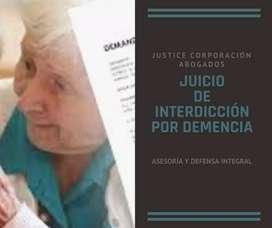 ABOGADOS LOJA Justice Corp.JUICIO DE INTERDICCIÓN POR DEMENCIA