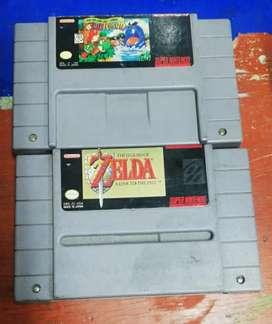 Se vende juegos de Super Nintendo