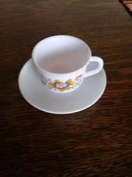 Juego de te y cafe frances arcopal