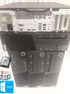 Torre lenovo core I5 4ta generación 4gb ram disco 320gb domicilio gratis factura garantía