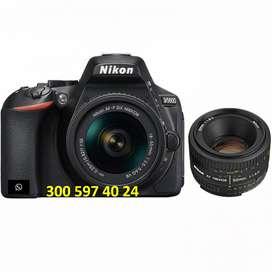 Cámara Nikon D5600 - Nueva - Black Friday