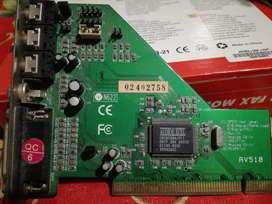 Placa De Sonido Audio Excel Cmi8338a Pci Hrtf 3dx Audio