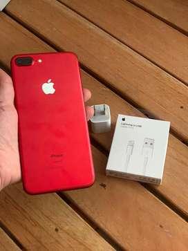 Iphone 7 plus de 128gb ROJO