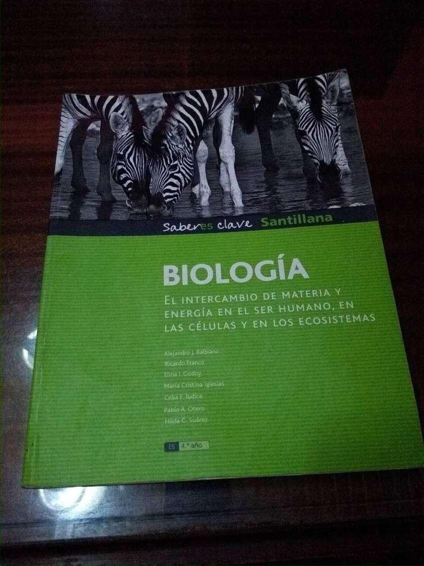 Biología saberes clave Santillana 4 año 0