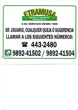 CONDUCTOR DE TRANSPORTE PUBLICO