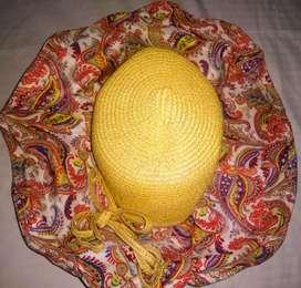 Sombrero pava de playa