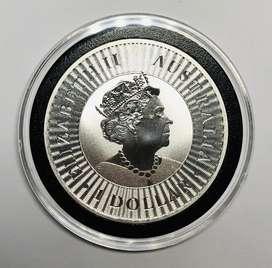 Moneda de Plata Australian Silver Kangaroo - 2020