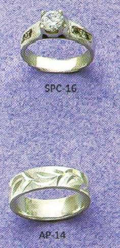 Anillo Sortija Compromiso Mujer Plata 950 Grabación del anillo mas Estuche