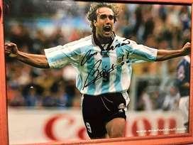 Cuadro selección argentina batistuta