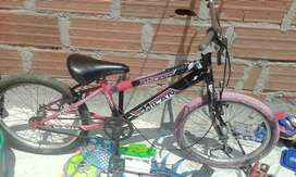 Vendo bicicleta rim20