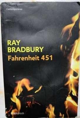 FAHRENHEIT 451 RAY BRADBURY ED. DE BOLSILLO en LA CUMBREPUNILLA