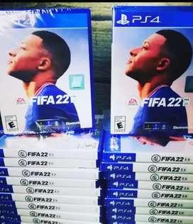 FIFA 22 !! PS4 PS5 SELLADOS NUEVOS !!