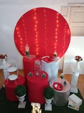 Ambientamos tu evento,cumpleaños,15,bodas,baby shower, comunión y más