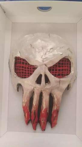 Vendo máscara decorativa punisher