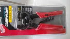 Ponchadora Coaxial RCA BNC F Gardner Bender