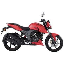 Moto TVS apache RTR deportiva 160cc IMPT Chimasa  azela