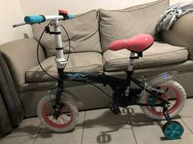 Vendo bicicleta disney rod 12 nueva