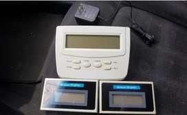 Consola con 2 Visores Cabinas Telefonica
