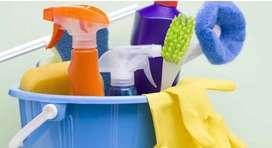 Señora para tareas de limpieza