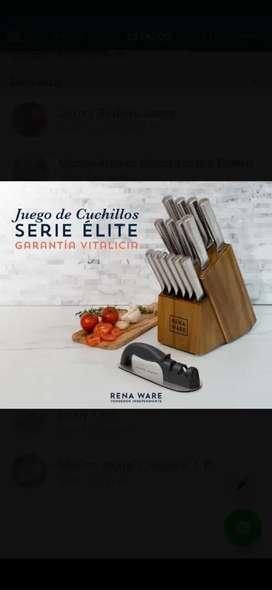 Cuchillos Rena Ware