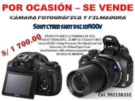 OFERTA CÁMARA FILMADORA Y FOTOGRÁFICA SONY - NUEVO