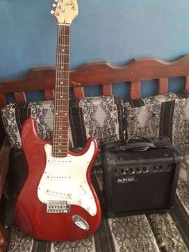 Guitarra VENDO GUITARRA Eléctrica Admix American Stylec + Amplificadorador incluido
