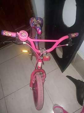 Bicicleta para niña de 5 años