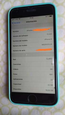 Celular iPhone 6 De 32 Gb