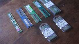 Memorias Ram Ddr3 Ddr2 8g 2gb 1gb Varios Modelos Y Marcas