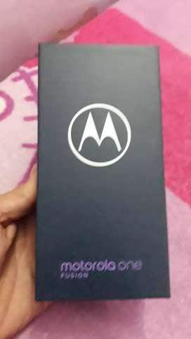 Vendo Motorola one fusión nuevo