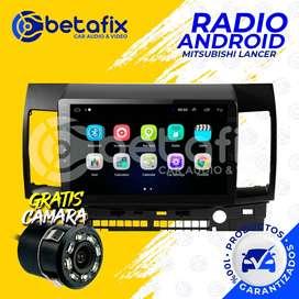 RADIO ANDROID MITSUBISHI LANCER 2010/2016 GPS WIFI BETAFIX DESDE