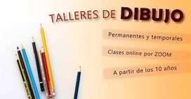 Taller de Dibujo Artístico Online