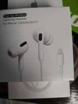 iPods audífono para iPhone entrada por el.puerto de carga