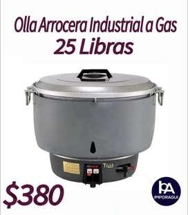 OLLA ARROCERA INDUSTRIAL 25 LIBRAS