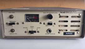 MARTI ELECTRONIC MOD. AR 10 RADIO, FM, AUDIO