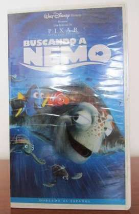 Cassete Vhs Buscando A Nemo Original Nuevo Sellado Disney  350