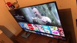 Smart tv 50 pulgadas 4K como nuevo