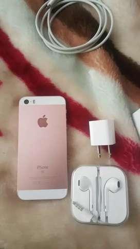 IPHONE S/E ROSA NUEVO , 64 GB /ORIGINAL.
