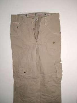 Pantalones tela drill
