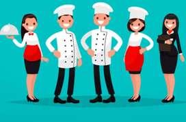 Buesco personal para restaurante con experiencia