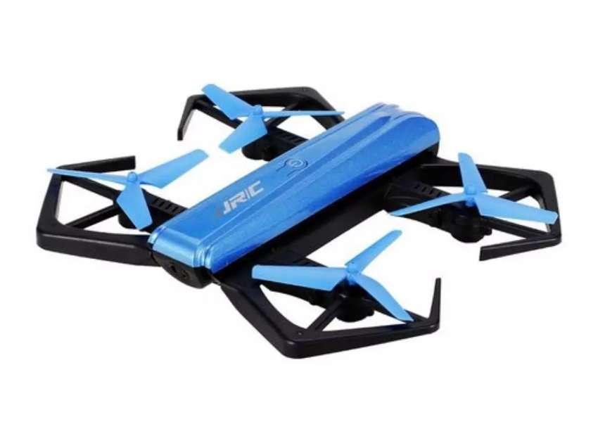 Drone selfie JJRC BLUE CRAB 0