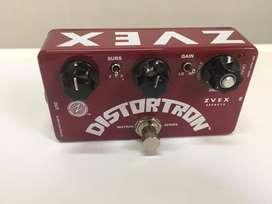 Pedal de distorsión para guitarra Distortion marca ZVEX EFFECTS