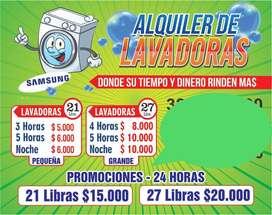 ALQUILER DE LAVADORAS SAMSUNG SANTA ROSA DE CABAL