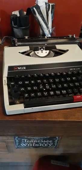 Máquina de escribir Welco 280
