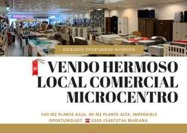 VENDO HERMOSO LOCAL COMERCIAL MICROCENTRO RIO CUARTO