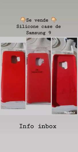 Se venden silicone case de Samsung s9