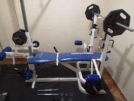Mini gimnasio  + Trotadora Oxford Fitness