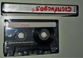 Cassette Audio Fuji 60 Un Solo Uso Impecable