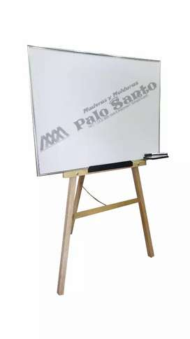 Tablero acrílico liso 1.20 x 80 cm con tripode, envió gratis a nivel nacional